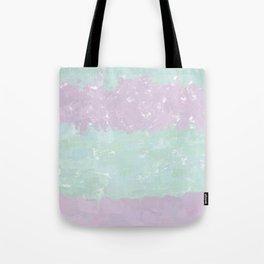 Mint & Pink Digital Design Tote Bag