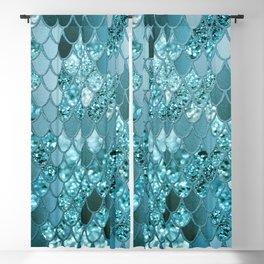 Mermaid Glitter Scales #4 #shiny #decor #art #society6 Blackout Curtain