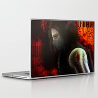 the winter soldier Laptop & iPad Skins featuring The Winter Soldier by ParallelPenguins