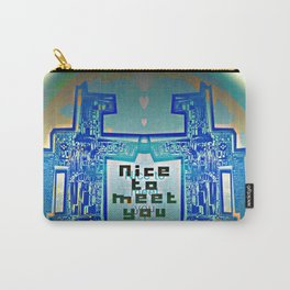 Nice to meet You / Robotic Lab Carry-All Pouch