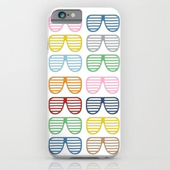 Rainbow Shutter Shades iPhone & iPod Case