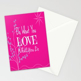 Sun Love - Pink Stationery Cards