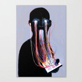 Consumption Canvas Print