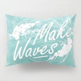Make waves Pillow Sham