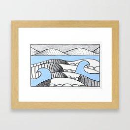 It's All Swell  Framed Art Print