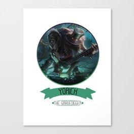 League Of Legends - Yorick Canvas Print