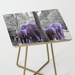 Purple guests Side Table