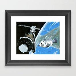 Saving Skylab Framed Art Print