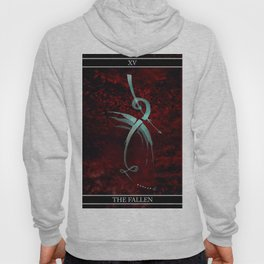 A Tarot of Ink Major Arcana XV The Fallen or The Devil Hoody