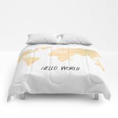Hello World Comforters