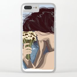 Take care Clear iPhone Case