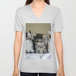 Cats Make Me Happy So Much Unisex V-Neck