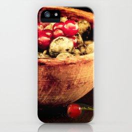 Berry mixed iPhone Case