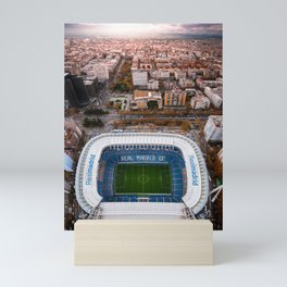Santiago Bernabéu Stadium - Madrid, Spain Mini Art Print