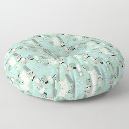 Retro Kitchen Floor Pillow