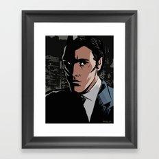 The Hero This City Deserves... Framed Art Print