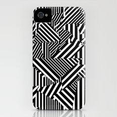 Dazzle Camo #01 - Black & White iPhone (4, 4s) Slim Case