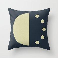 Bed Time (clock#7) Throw Pillow