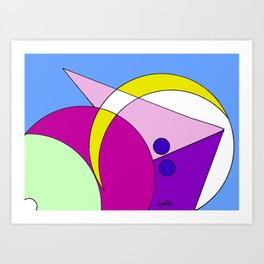 Taking the right Direction                By Kay Lipton Art Print