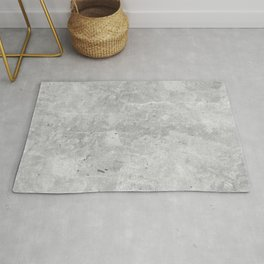 Gray Concrete Rug