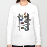 cameras Long Sleeve T-shirts featuring Iconic Cameras! by CRankin