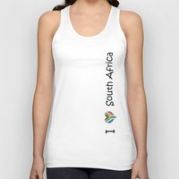 south africa Tank Tops featuring South Africa by Jozi