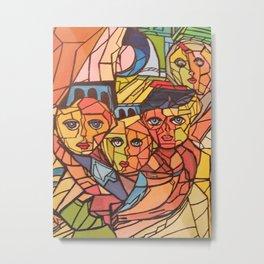 Between wall Metal Print