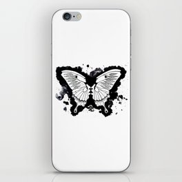 Butterflies in my stomach iPhone Skin
