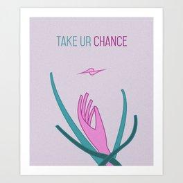 Take Chance Art Print