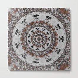 Stone Ridge Kaleidoscope Metal Print