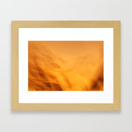 Sunset in Palm Beach Framed Art Print