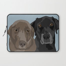 Two Labradors Laptop Sleeve