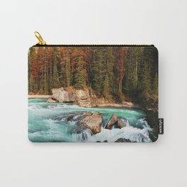 Natural Bridge Falls - Yoho, BC Carry-All Pouch