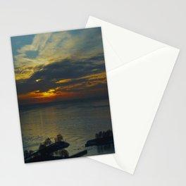 Chicago Sunrise, Feb. 13, 2015 (Chicago Sunrise/Sunset Collection) Stationery Cards