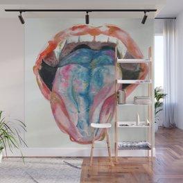 BlueRaspberry Wall Mural