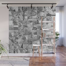 Doodling Together #1 Wall Mural