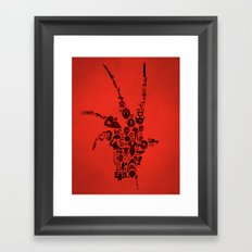 Terror Framed Art Print
