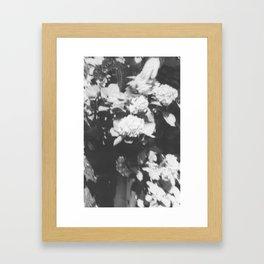Mission Hill in black Framed Art Print