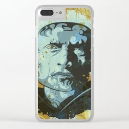 Roy Batty Clear iPhone Case
