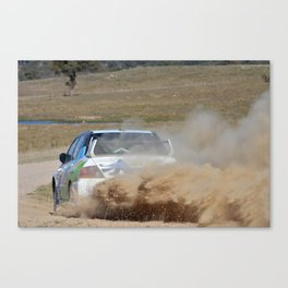 New England HWY rally - Glen Iness Canvas Print