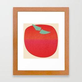 Japanese Apple Framed Art Print