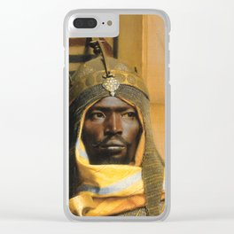 Ludwig Deutsch, The palace guard Clear iPhone Case
