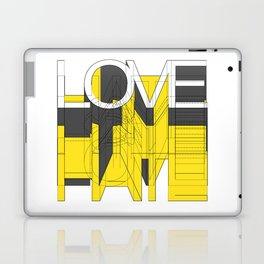 HATE LOVE Laptop & iPad Skin