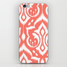Ikat Damask Coral iPhone & iPod Skin