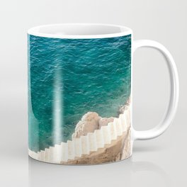Stairs to the Sea Coffee Mug