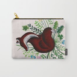 Fox in Meadows Carry-All Pouch