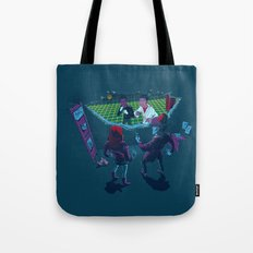 Not where but when, not how but Who? Tote Bag