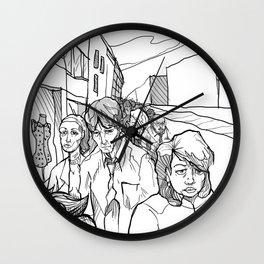 Midding City Wall Clock