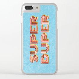 Super-Duper Clear iPhone Case