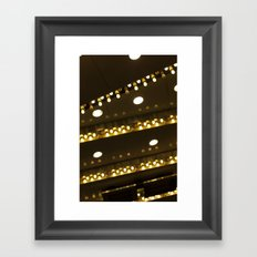 Diagonal Framed Art Print